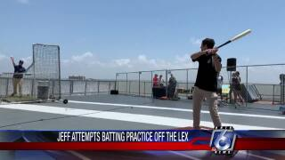 CC Hooks and our own Jeff Dubrof take some swings on the U.S.S Lexington