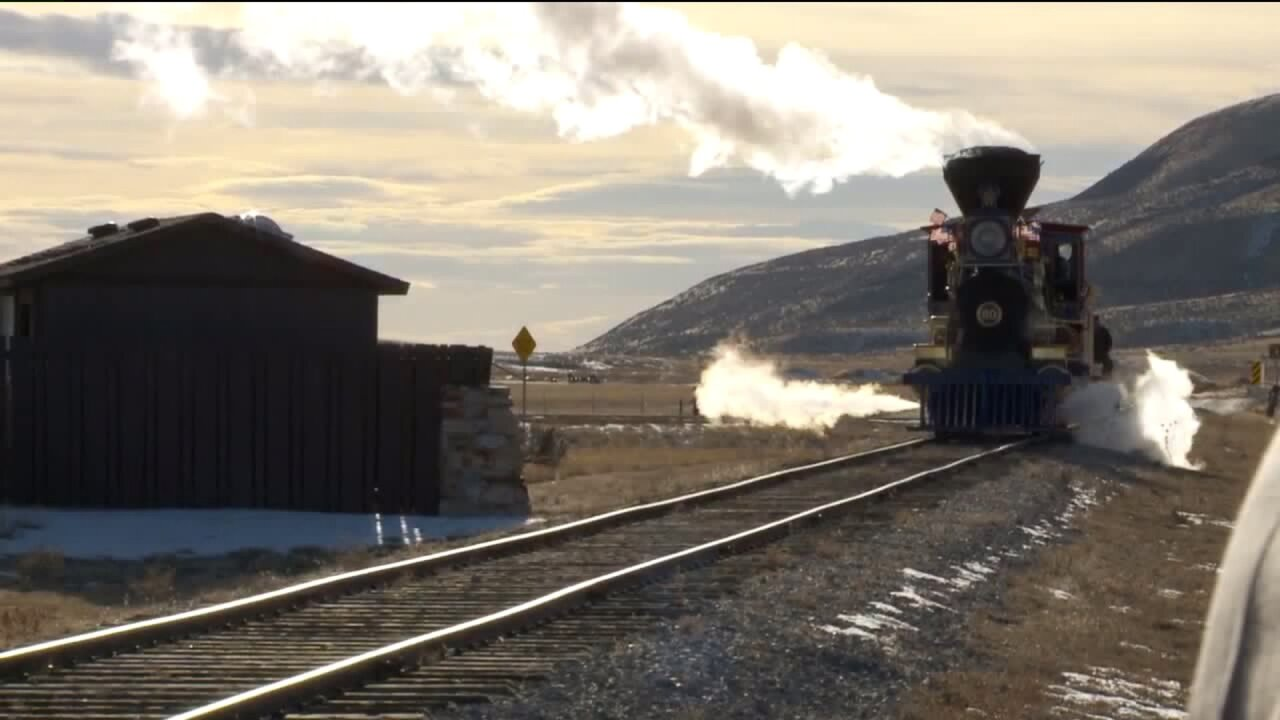 Government shutdown forces cancellation of Winter Steam Festival at Golden Spike National Historic Site