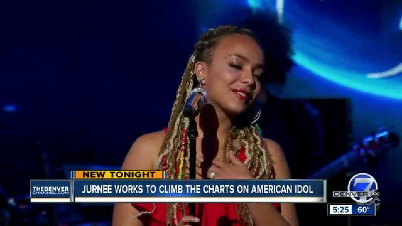 Love spurs teen's drive to compete on 'Idol'