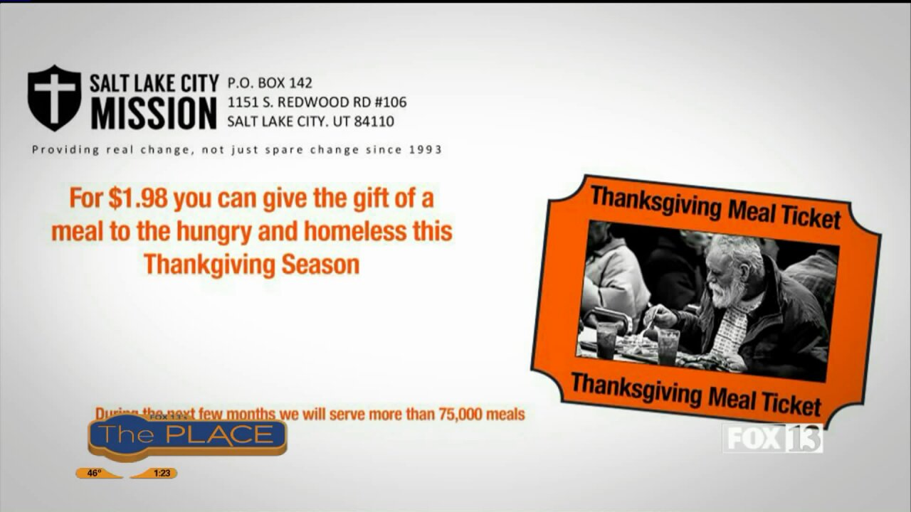 A Thanksgiving meal means so much more to someone who is hungry orhomeless
