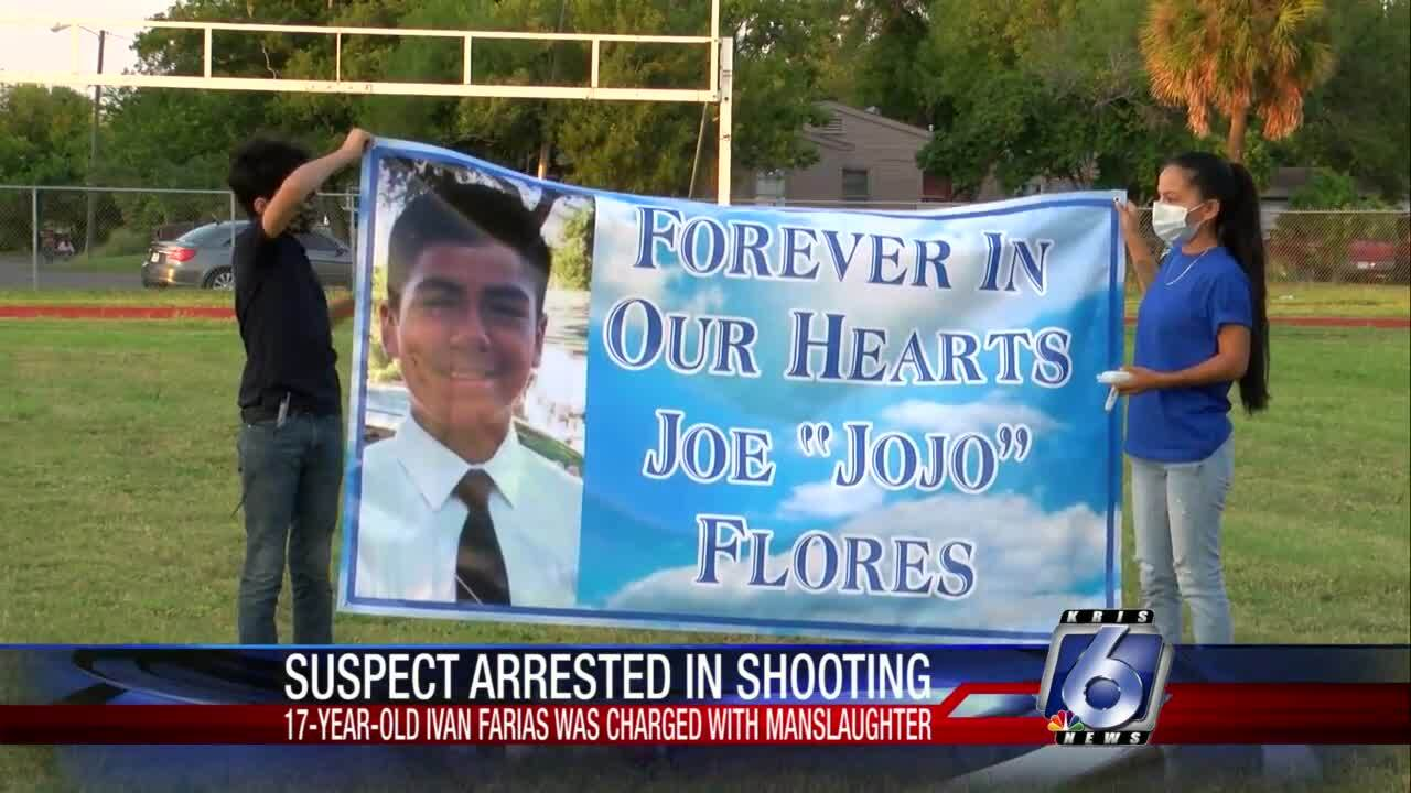 Family of slain 14-year-old holds Saturday night vigil