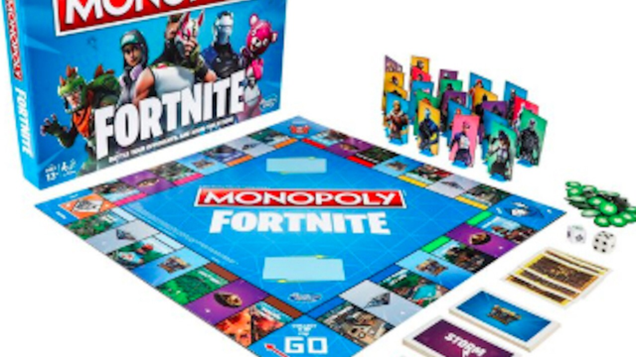 Fortnite Monopoly board game to be in stores by October