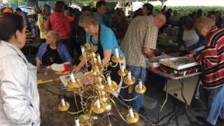 Annual Sidewalk Sale helps benefit abuse victims