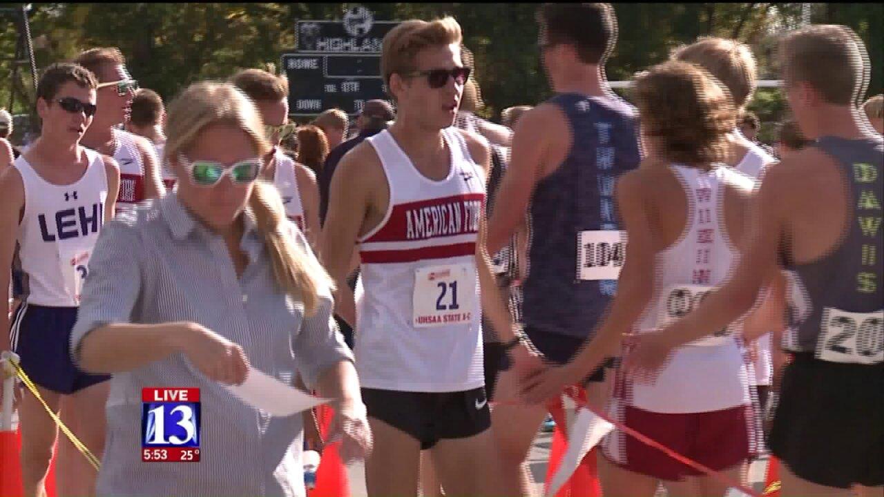 Utah student wins national cross-countryaward