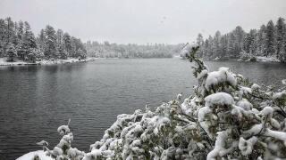 PHOTOS: Snow hits northern Arizona Tuesday