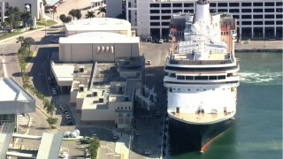 Cruise ship with sick passengers approaches Florida, waiting for clearance