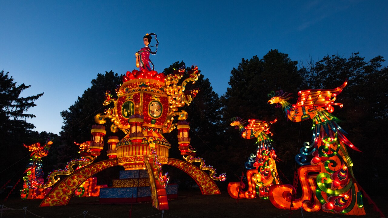 Asian Lantern Festival Opening Night