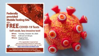 Kern County Public Health offering free COVID-19 tests