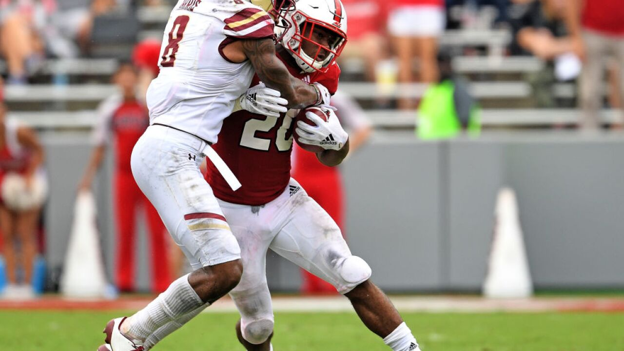 Detroit Lions trade up in third round to pick Boston College safety Will Harris