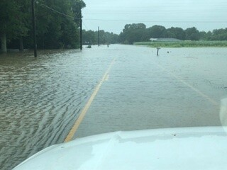 Dentente Road in Youngsville
