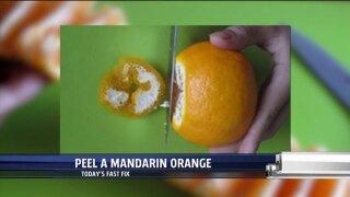 Fast Fix – Peel a MandarinOrange