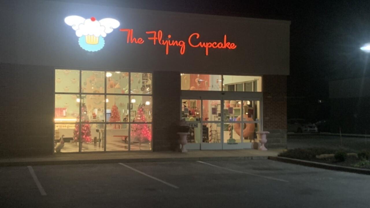 The Flying Cupcake in Carmel