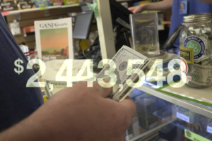 Dispensaries can't open accounts with traditional banks, so the pot protection industry is booming