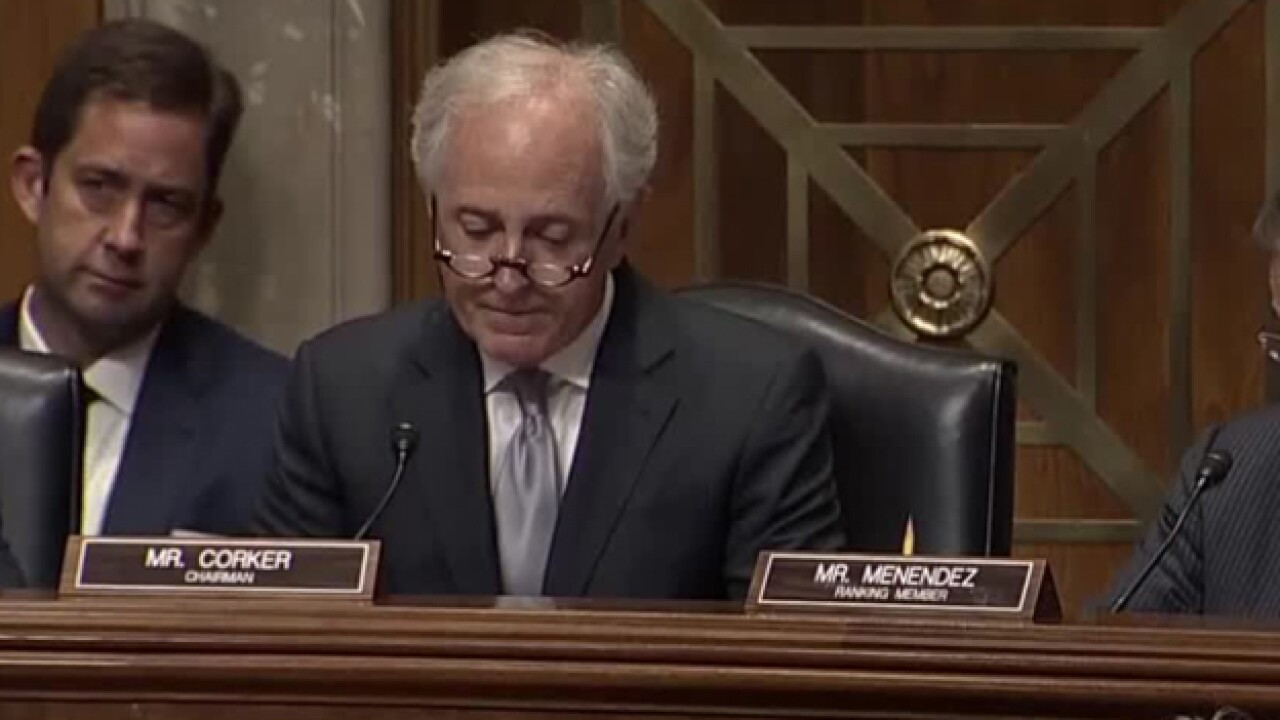 Bob Corker Questions Secretary Of State