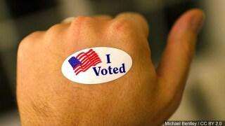 I voted photo