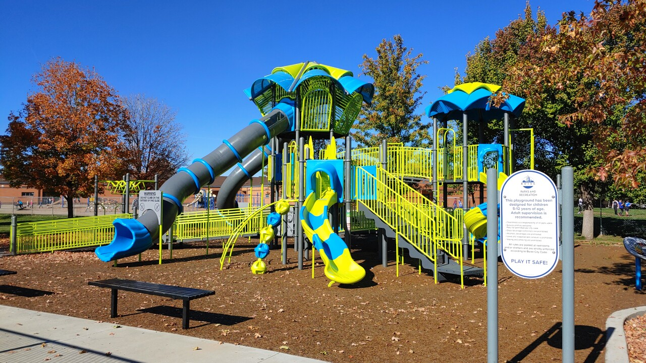 Hobble Creek Park playground