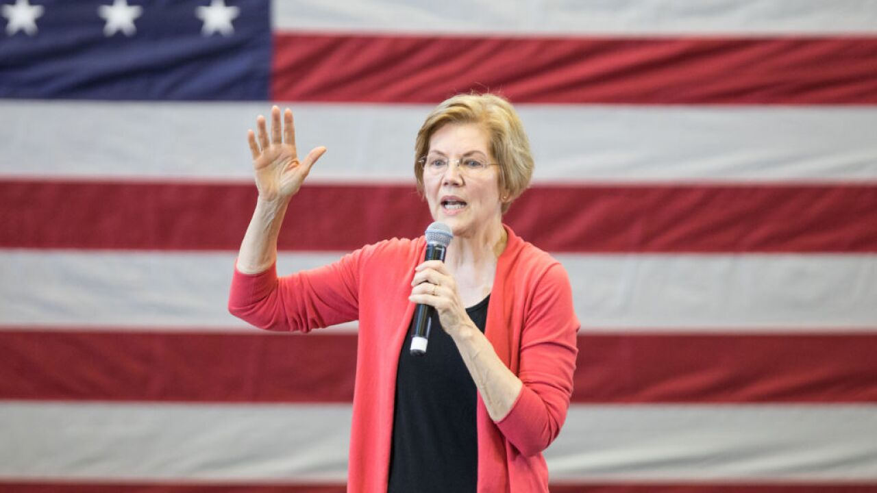 Sen. Elizabeth Warren calls for House to start impeachment proceedings