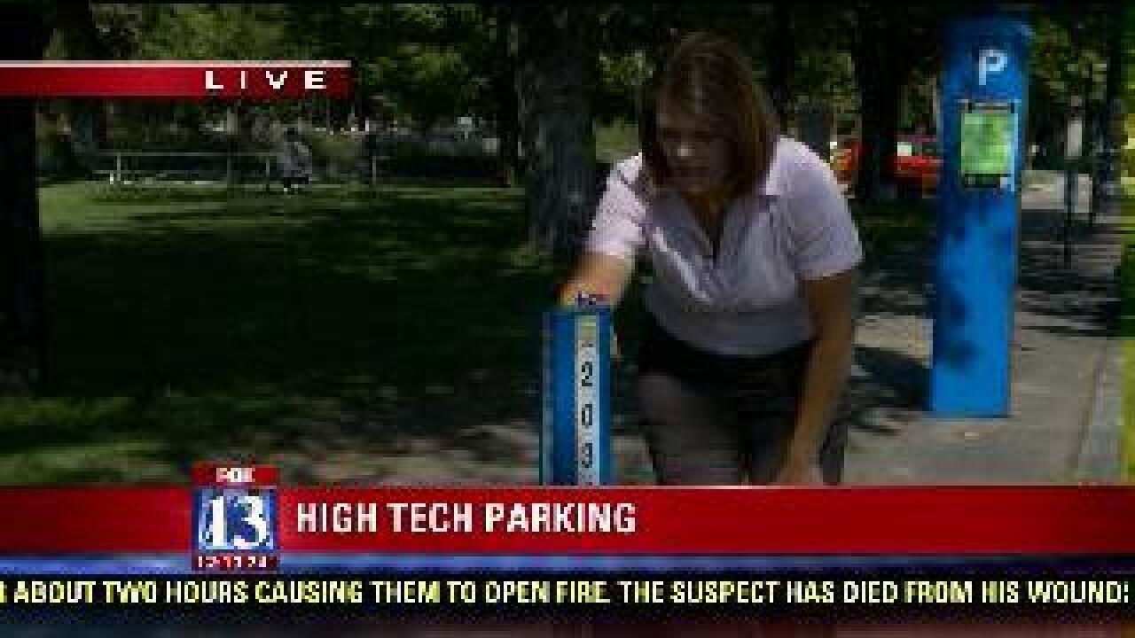 SLC unveils high tech parking payment option
