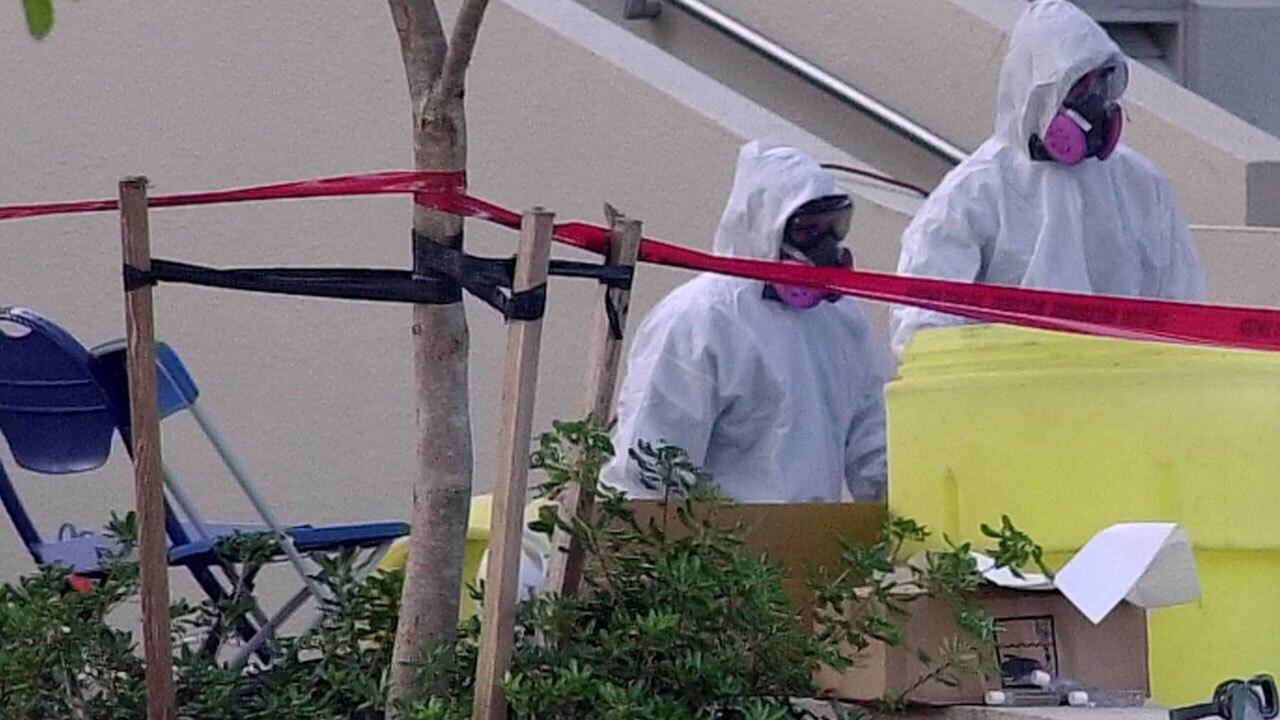 Anthrax attack at American Media in Boca Raton on Oct. 2001