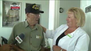 People Taking Action: Virginia Beach employee takes action for WWIIveteran
