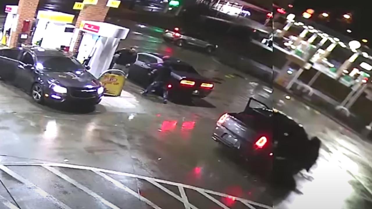 gas station shooting