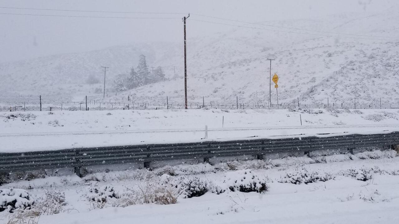 Grapevine snow - 12/6/18