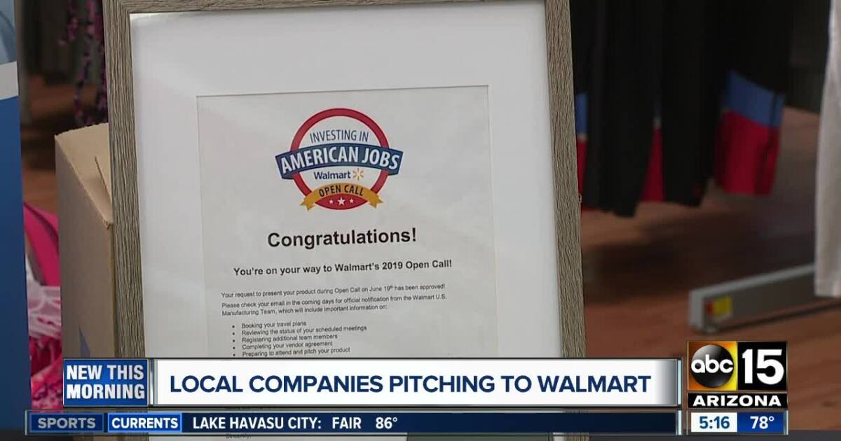 Valley companies selected for Walmart's 'Open Call'