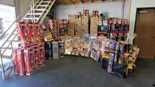 Illegal Fireworks, July 6, 2021