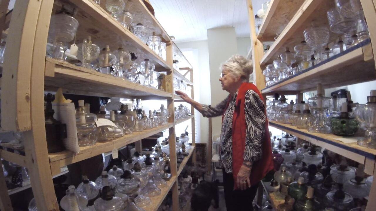Hertford County woman's kerosene lamp collection spans 55years