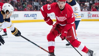 Red Wings re-sign Dominic Turgeon to one-year deal