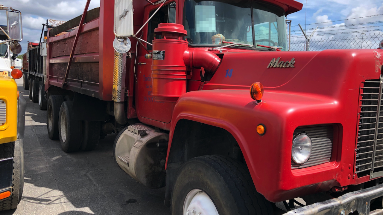 The oldest stolen vehicle CBP officers recovered in Baltimore was a 1988 Mack dump truck, destined to West Africa.