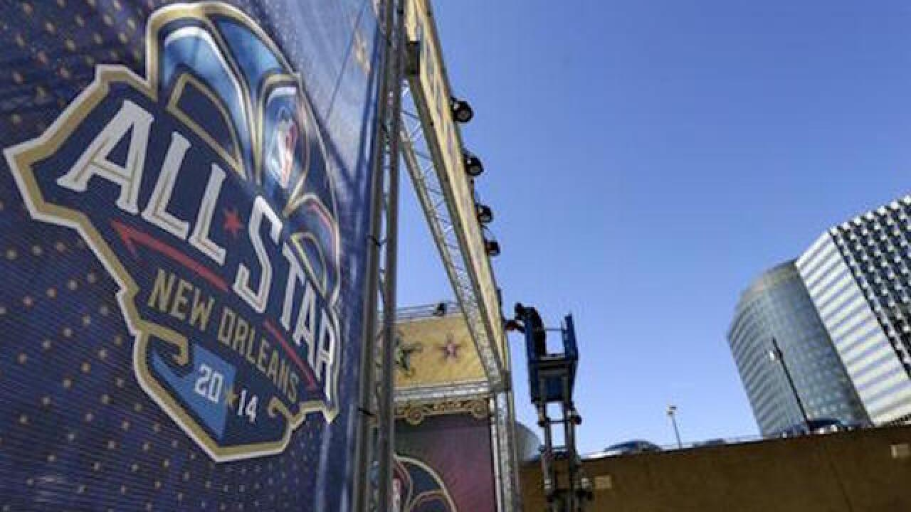 New Orleans replaces Charlotte for 2017 NBA All-Star Game, source says