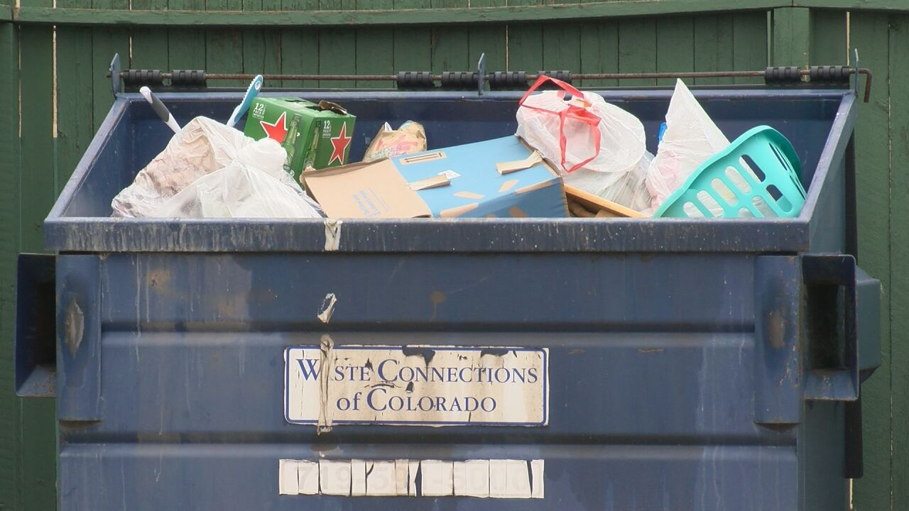 Community trash bin