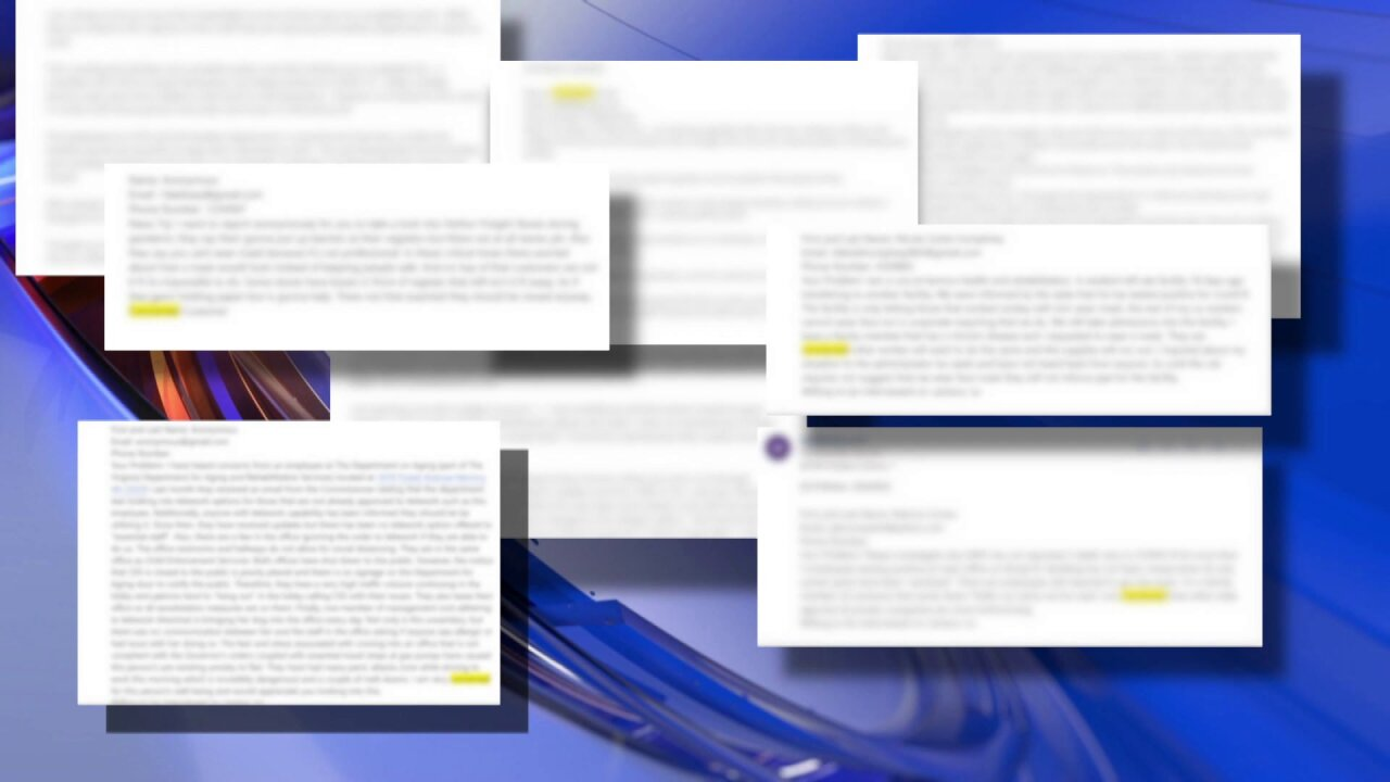 Numerous CBS 6 viewers have raised concerns over workplace conditions during the COVID-19 pandemic.