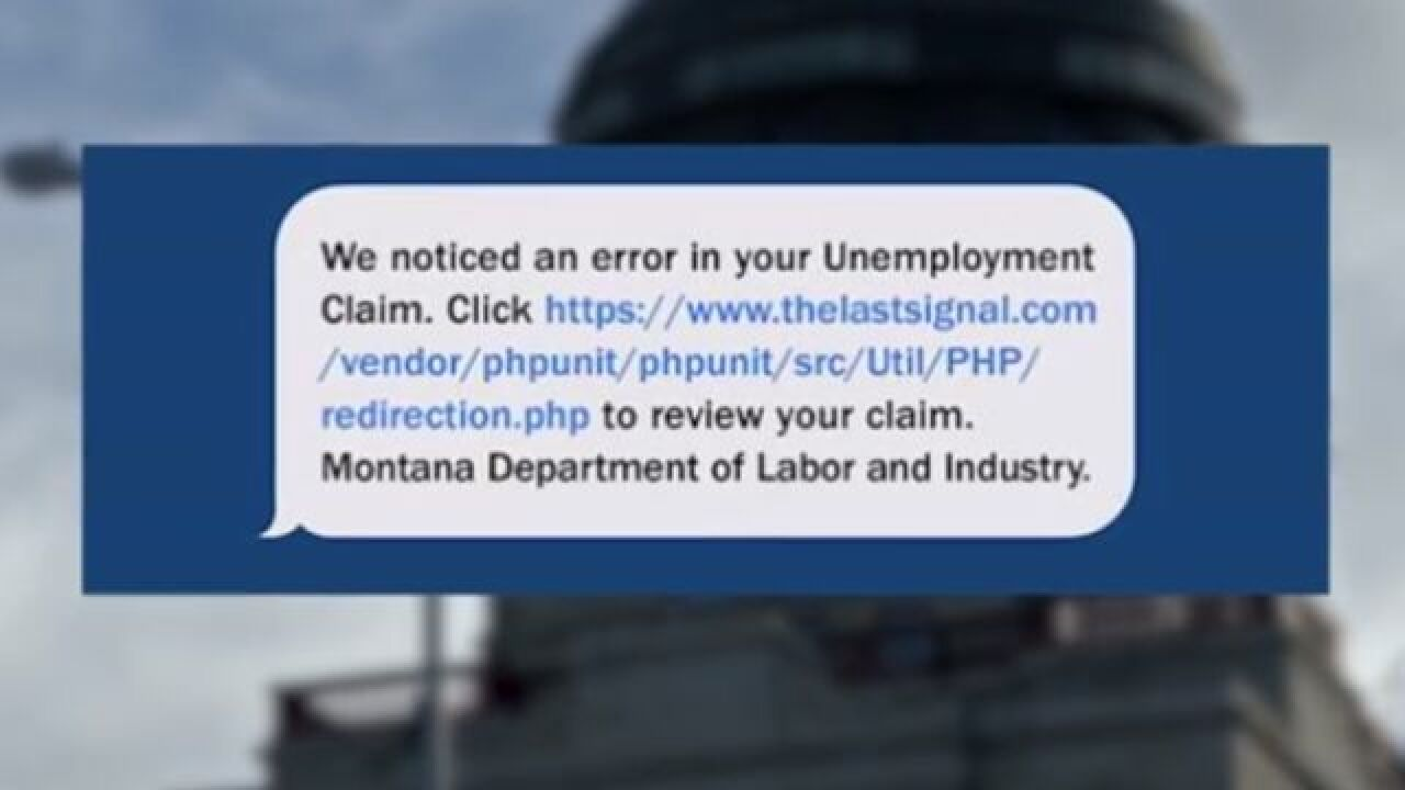 DLI warns about unemployment text scam