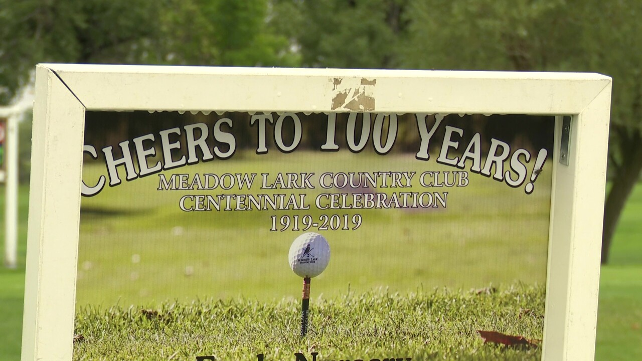 Meadow Lark Country Club celebrates centennial