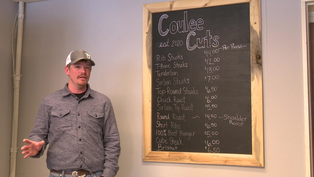 Kesler Martin, the owner of Coulee Cuts