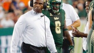 USF to play University of Florida in three game football series