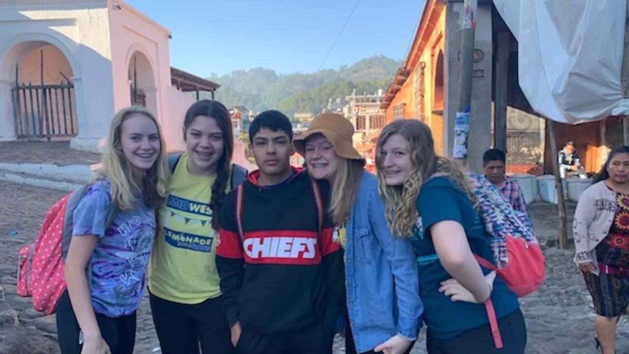 Church group in Guatemala