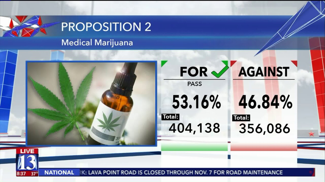 Utah's medical marijuana ballot initiative will pass