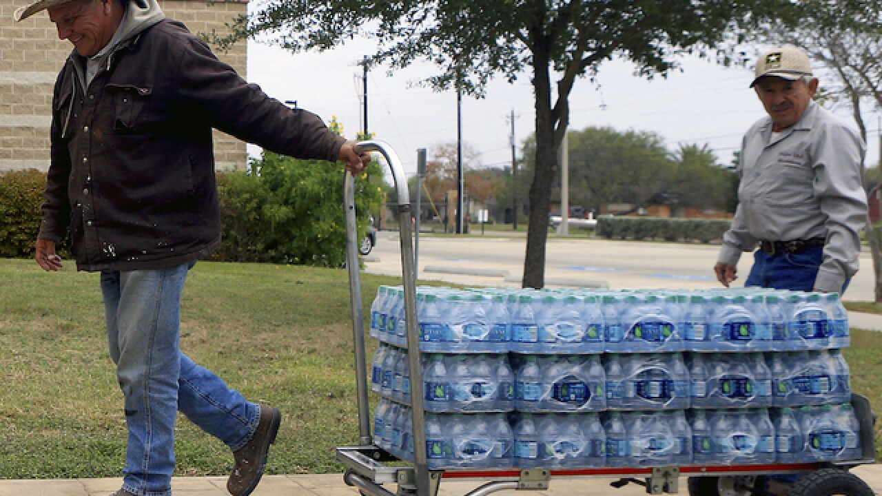 Mayor: Corpus Christi, Texas water ban lifted