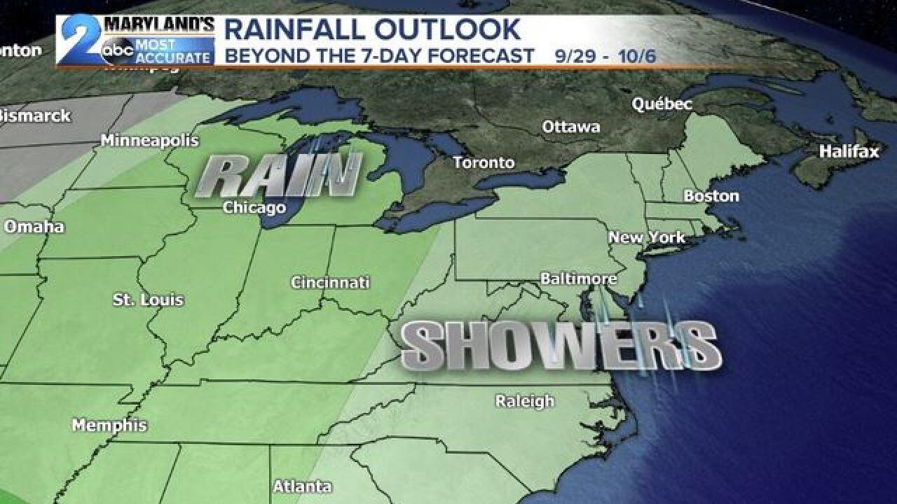 FALL STARTS: Rain Chances & Changing Temps