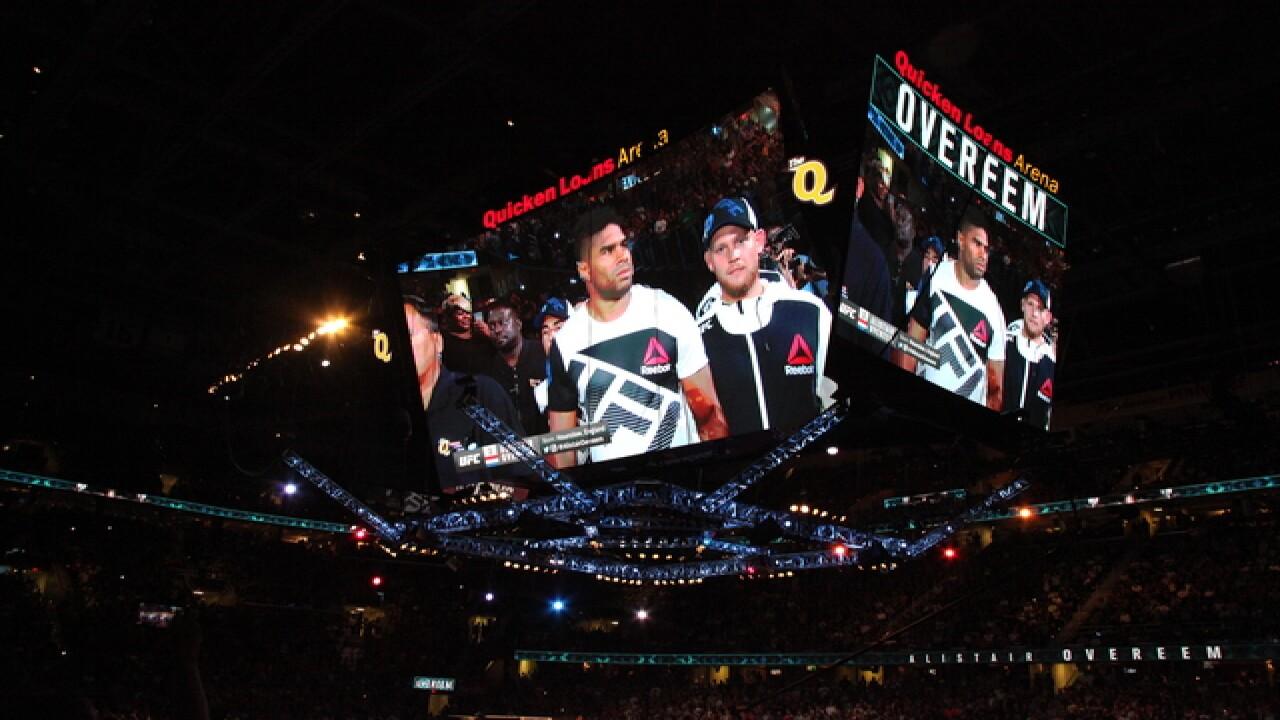 Inside UFC 203