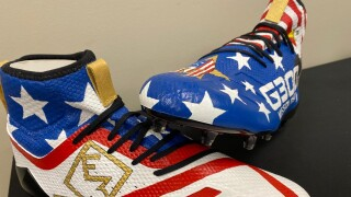Anthony Sherman cleats.jpg