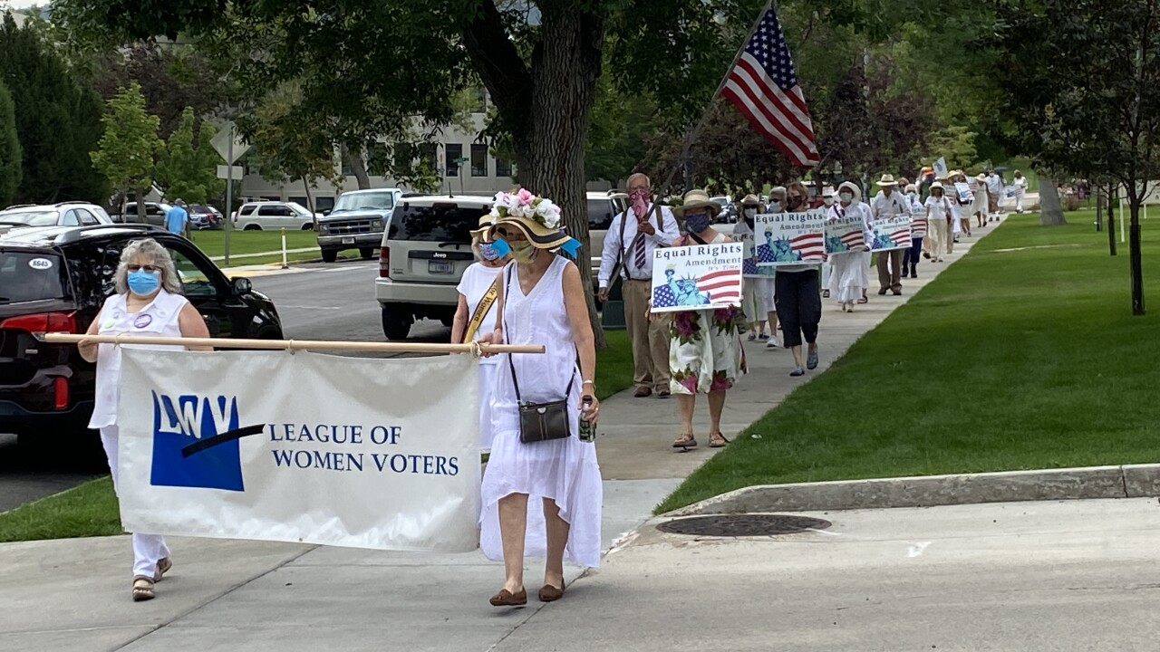 Helena celebration marks 100th anniversary of women's suffrage milestone