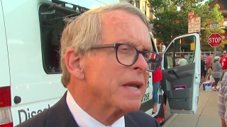 Crowd at Dayton shooting vigil pleads with Ohio Gov. Mike DeWine to 'do something!'