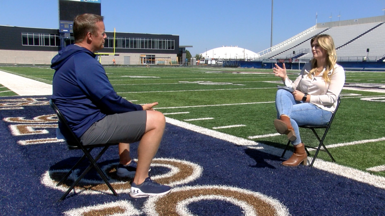 Montana State's Brent Vigen sits down with MTN's Ashley Washburn to preview the Bobcats season opener against Wyoming