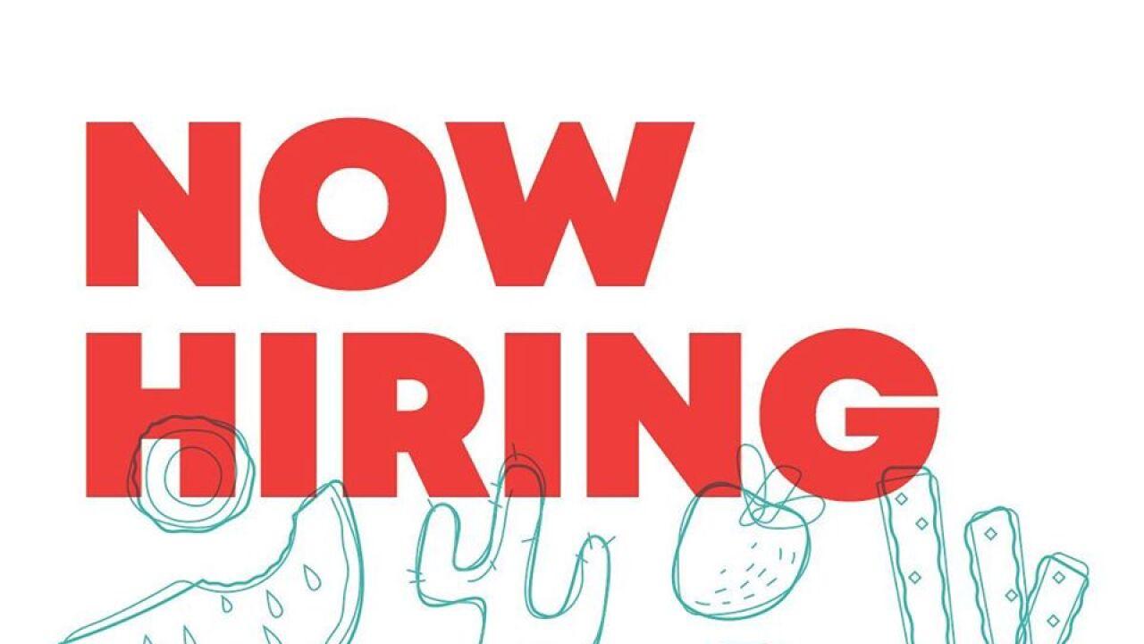 eegee's now hiring!