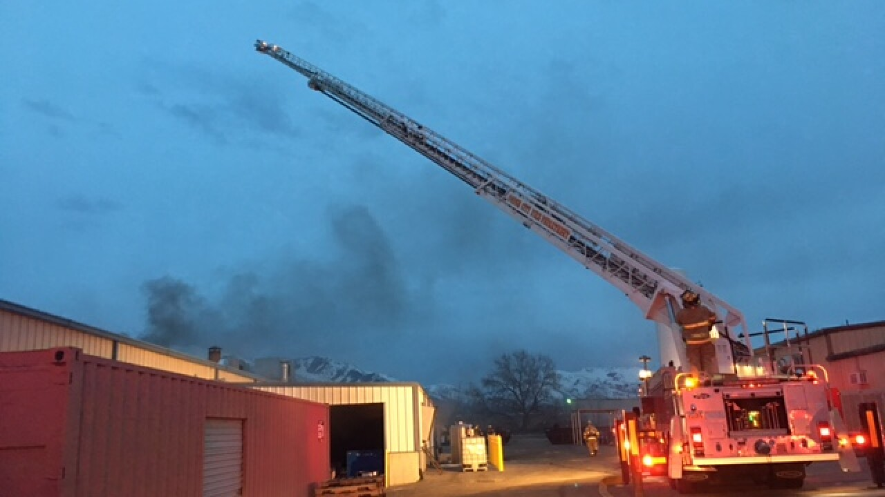 Ogden structure fire causes $400,000 in damages