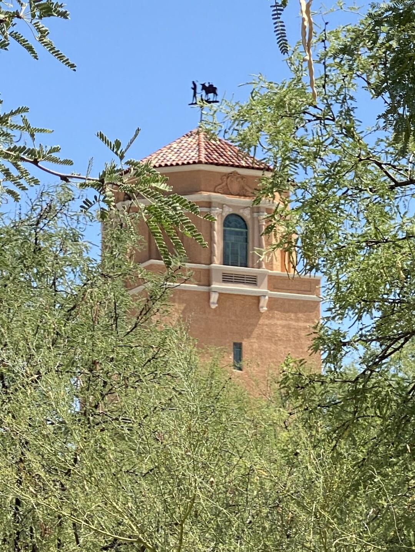 El Con Tower weather vain
